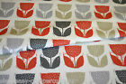 CUSTOM MADE - VW Camper Van Curtains - POPPY POD - AMBER NATURAL