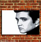 ELVIS PRESLEY THE KING MUSIC CANVAS WALL POP ART BOX PRINT PICTURE MEDIUM LARGE