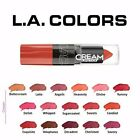 L.A. Colors Moisture Cream Lipstick U Pick LA Lip Color Creamy