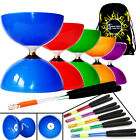 Big Top - Jumbo Ball Bearing Diabolo Set + Metal Diablo Sticks + String, Bag