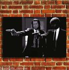 PULP FICTION MOVIE FILM CANVAS PRINT WALL POP ART PICTURE SMALL MEDIUM LARGE
