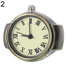 Women Vintage Punk Round Alloy Quartz Finger Ring Watch Watches Eager Nobby