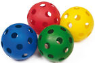 Juniors Outdoor Activity Game Perforated Plastic Air Flight Playball Sold Single