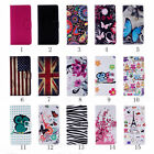 Card Slot Holder PU Leather Wallet Case Cover Butterfly For Microsoft Lumia N950