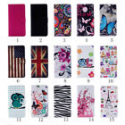Card Slot Holder PU Leather Flip Wallet Case Cover Butterfly For Wiko Lenny 2