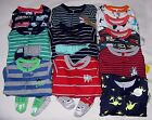 CARTER'S BABY BOY 1PC FOOTED BLANKET SLEEPER PAJAMAS JAMMIES 12M-24M 2T-5T