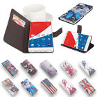 Stylish New Leather Wallet Printing Folio Case Stand For 5.5 Inch Pepsi P1S