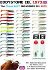 EDDYSTONE EEL 70mm - PKT10 LURES The Famous Artificial Sandeel MACKEREL / BASS