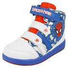 Boys Marvel Spiderman Hi Top Trainer - Concourse