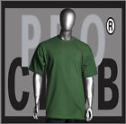 1 New Mens Pro Club Heavyweight Kelly Green Blank T Shirt M to 3XL PROCLUB