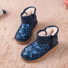 NEW Children Kids Girl Warm Sports Sneakers Boots Casual Shoes