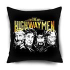 """The Highwaymen country music Pillow Cushion Cover (PILLOWCASE only) 20""""x20"""""""