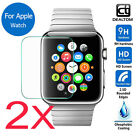 2Pcs Premium Tempered Glass Film Screen Protector Cover For Apple Watch iWatch