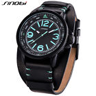 Mens Military Army Aviation Pilot Watches For Luxury Brand Waterproof Wristwatch