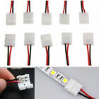 10-50PCS 2PIN Connector Cable Adapter PCB For 3528/5050 LED Strip Single Color