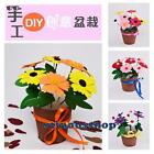 1Pc Craft Cloth Sewing DIY Kit Nonwoven Potted Plant DIY Project Kit