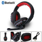 V8 Pro Wireless Bluetooth Gaming Headset Earphone Headphone w/ Mic For Phone PC