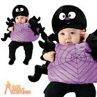 Toddler Silly Spider Costume Baby Halloween Insect Fancy Dress Outfit + Hat New