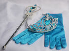 Frozen Elsa Alan Tiara Princess Crown Wand Gloves Halloween Christmas Cosplay