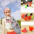 1 Pair Halloween Cosplay Women Girls Devil Horn Barrettes Hair Clip Choose Color
