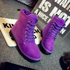 Womens Ankle Boots Real Fur Winter Warm Thicken Shoes Snow Boots 6 color