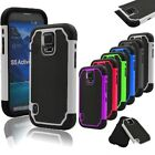 For Samsung Galaxy S5 Active G870 Outer Box Protective Hybrid  Hard Case Cover