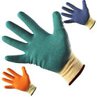 PWS QUALITY WORK SAFETY GLOVES NITRILE PU LATEX COATED GARDEN MENS WOMENS