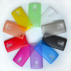 10 Colors Lot Ultra-thin Matte Effect Transparent Clear Case Skin For LG G4 New