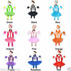 Short Gloves 5 Set TUTU Skirt pant Braces Girls Kids Headband Necklace Socks