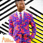 Adult The Fresh Prince Oppo Suit Mens TV Funny 90's Fancy Dress Outfit New