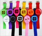 Fashion Design Candy Color Unisex Watches, Bulky Casual 3D Wrist Watches