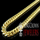 10K AUTHENTIC YELLOW GOLD MIAMI CUBAN CURB LINK CHAIN NECKLACE 6 MM 22~24 INCH
