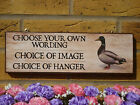 DUCKS CROSSING SIGN BEWARE OF THE DUCKS SIGN PERSONALISED DUCK EGGS SIGN GARDEN