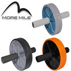 More Mile Ab Roller Abdominal Fitness Gym Workout Exercise Wheel Toner