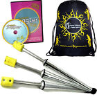3x PULSAR Fire Juggling Torches Pro Juggling Fire Torch Set of 3 +DVD +  Bag