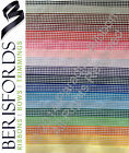 PER METRE Berisfords Gingham (Small Check) 18 SHADES CHOOSE WIDTH & SHADE