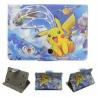"Pokemon Go 7- 7.9"" 9.7- 10.1"" Android Tablet Case Folio Leather Stand Flip Cover"