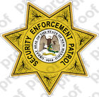 Sticker Police NEW MEXICO SECURITY ENFORCEMENT PATROL
