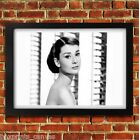 AUDREY HEPBURN CLASSIC MOVIE POSTER FRAMED WALL ART PRINT PICTURE S M LARGE