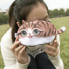 Cute Cat Face Tail Coin Purse Kids Wallet Bag Change Pouch Key Holder AU