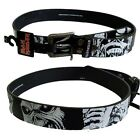 Iron Maiden Black & White Eddie Belt L 36-38 Large Official Metal Band Merch New
