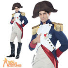 Adult Deluxe Napoleon Costume French Emperor Mens Fancy Dress Outfit New