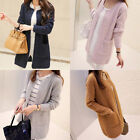 New Women Casual Long Sleeve Knitted Cardigan Sweaters Tricotado Cardigan FO