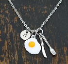 Breakfast Necklace, Chef Necklace, Gift for Chef, Hotel Jewelry - PERSONALIZED