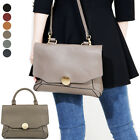 WOMEN'S PURSE NUTELA SM TOTE SHOULDER CROSS EVERYDAY BAG REAL COWHIDE LEATHER