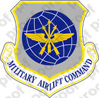 STICKER USAF Military Airlift Command NEW