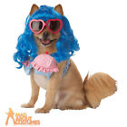 Pet Dog Katy Perry Cupcake Costume Pop Star California Gurl Fancy Dress Outfit