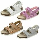 Girls Down To Earth Twin Velcro Strap Sandal - H0050