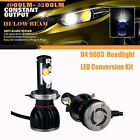 HI LOW Beam LED Headlight Conversion Kit 9005 9006 H1 H4 H7 H11 H13 Bulb 6000K