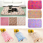 3 Colors Warm Pet Mat Small Large Cat Dog Puppy Pad Soft Blanket Bed Kennel EAL